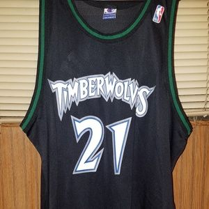 Other - Champion Jersey Kevin Garnett #21 sz 52